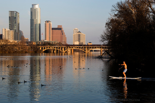 Winter in Austin, Tx