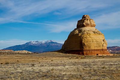 Church Rock. Southeastern Utah