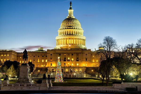 Us Capitol Christmas