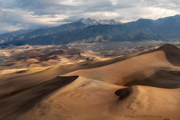 Morning in Great Sand Dunes National Park