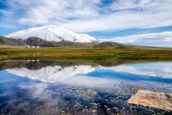 Western Mongolia Reflection