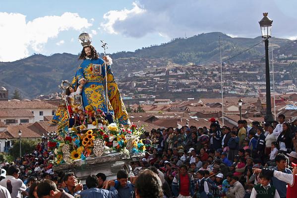Corpus Christi Festival, Cusco Peru