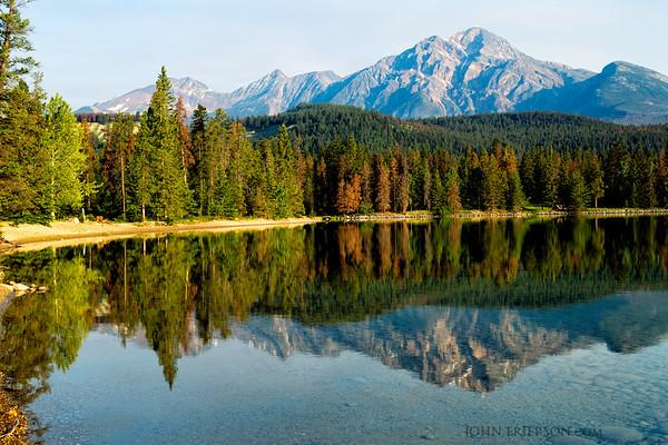 Pyramid Mountain and Edith Lake