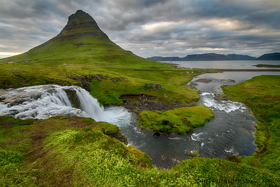 Kirkjufoss Iceland