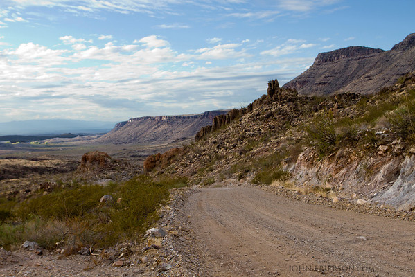 Big Bend Ranch State Park, Texas.