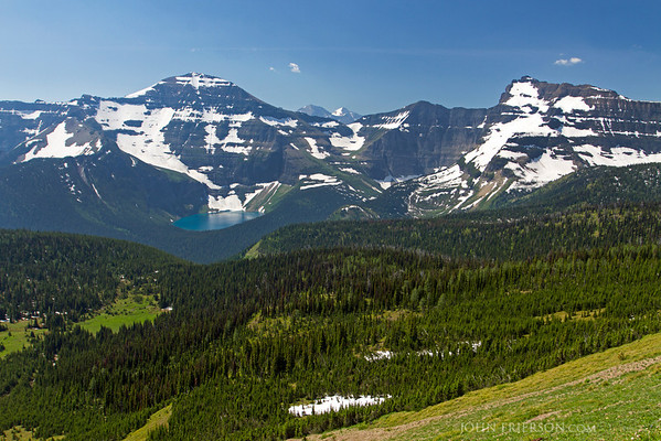 Carthew-Alderson trail along the US-Canada Border