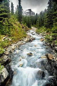 Creek in Mt Robson Park