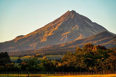 Sunrise at Mount Taranaki