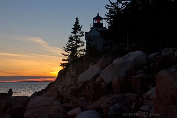 Bass Head Lighthouse, Acadia National Park.