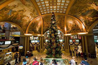 Christmas, Galerías Pacífico Mall, Buenous Aires
