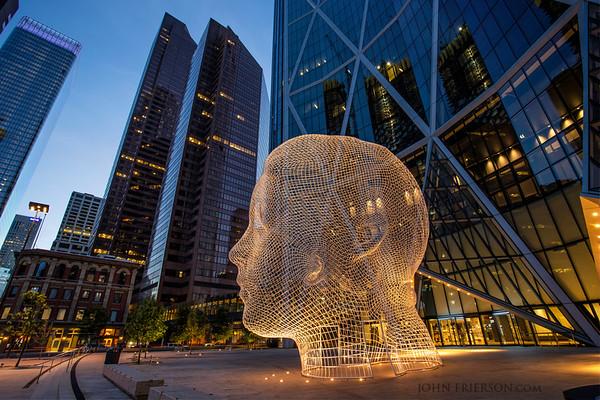Wonderland Statue, Calgary
