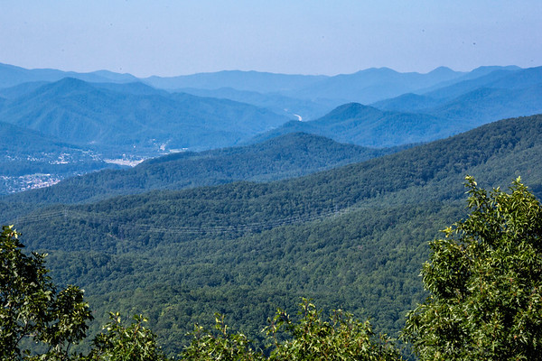 View from Pinnacle Trail Firetower