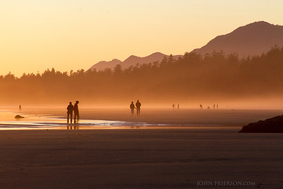 Sunset at Pacific Rim National Park