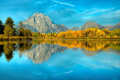 Fall at Grand Teton National Park