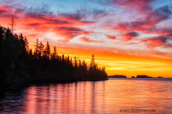 Sunrise, Isle Royale National Park