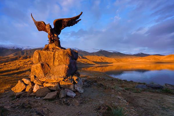 Altai Eagle Statue