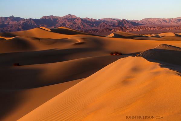 Mesquite Dunes, Death Valley National Park