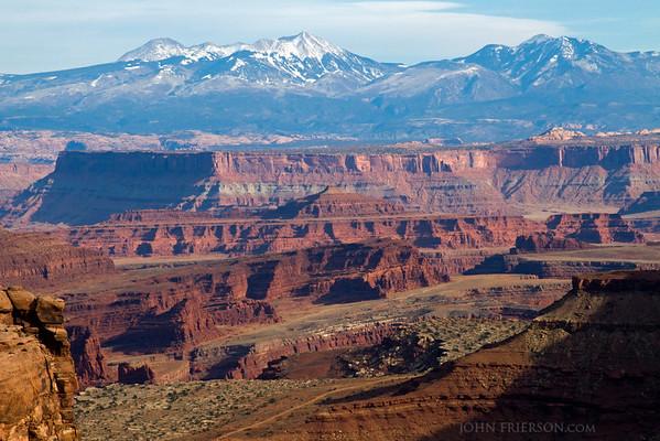 Schafer Canyon Viewpoint, Canyonlands National Park.