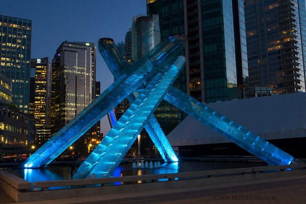 Olympic Cauldron, Vancouver, Canada