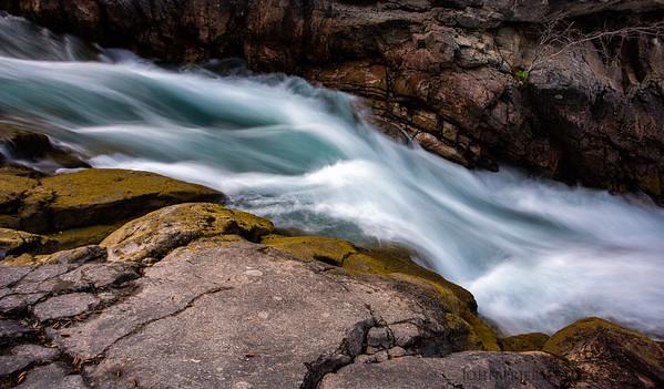 Maligne Canyon, near Jasper, Alberta