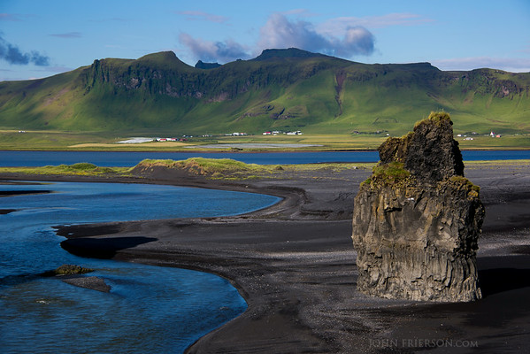 Coastline near Vik, Iceland