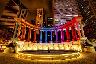 Founders Monument, Millennium Park, Chicago