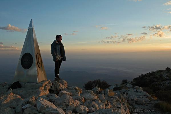 Guadalupe Peak; Texas