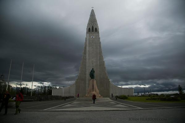 Hallgrímskirkja, Reykjavik, Iceland
