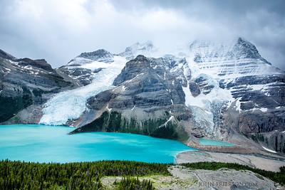 Mt Robson and Berg Lake