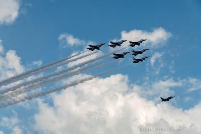 Thunderbirds over Austin, Texas