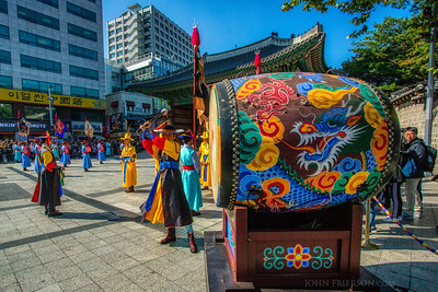 Deoksugung Palace Royal Guard-Changing Ceremony, Seoul, South Korea
