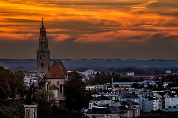 Saltzberg Sunset