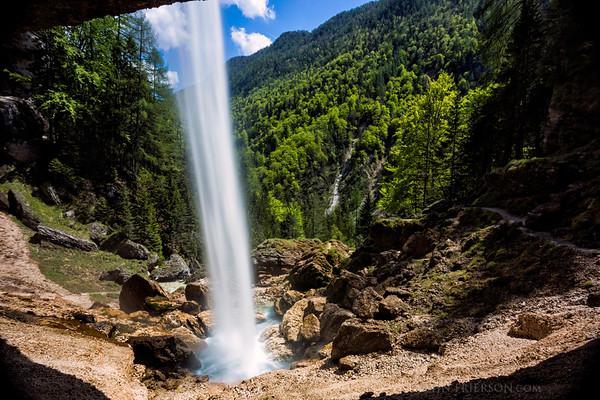 Peričnik Falls, Slovenia