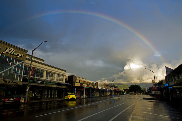 Rainbow in Taupo, New Zeland