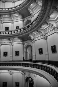 Curves in the Texas State Capitol Rotundra