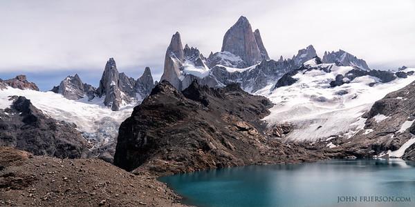 Laguna de los Tres, Argentina, 2x4 Panorama