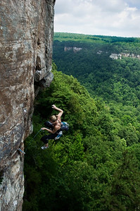 Katy Kottkamp takes a whipper outside Chattanooga, Tennessee