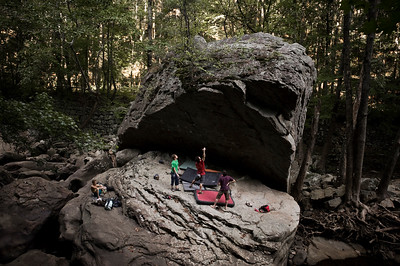 Dayton Boulders, Laurel Snow Pocket Wilderness, Dayton, Tennessee