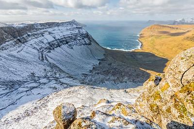 The view from Norðradalskarð, Streymoy, Faroe islands.