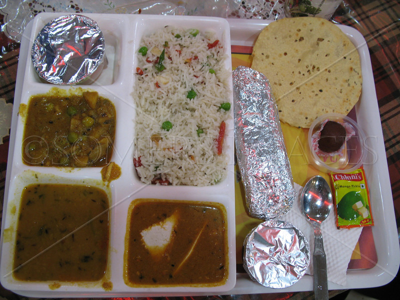 Meal at Howrah Station
