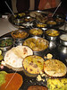 Thali in New Delhi restaurant