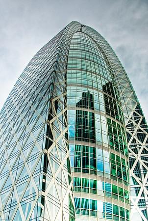 The new Subaru building in Shinjuku.