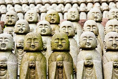 Jizo, the guardian deity of children.