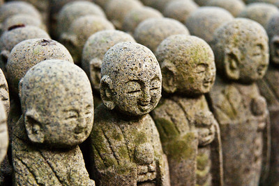 Jizo, the guardian deity of children.
