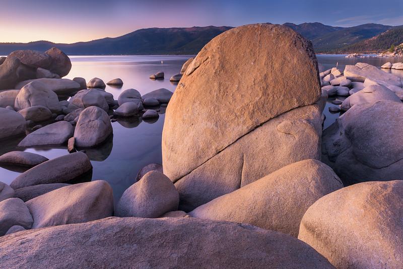 Split Rock Sunset, Lake Tahoe