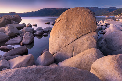 Split Rock Sunset, Lake Tahoe
