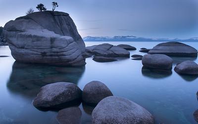 Bonsai Rock Dawn Profile