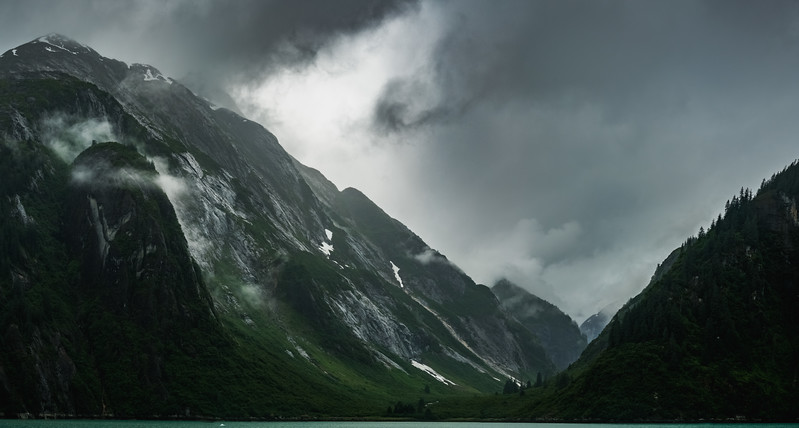 Stormy Skies over the Fjord