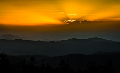 Clingmans Sunset