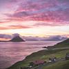 Velbastaður at Sunset